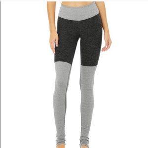 Alo yoga high waist alosoft goddess leggings sz M